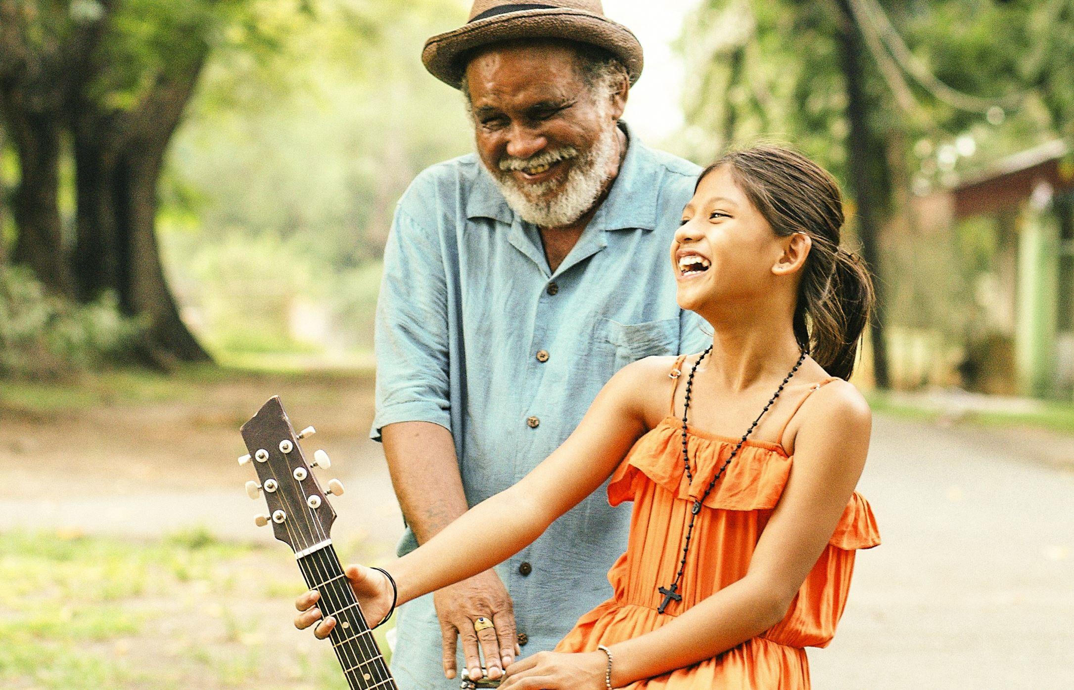 映画「ブランカとギター弾き」のシーン画像